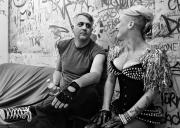 Blag & Betty backstage | The Dwarves & Choke Dash
