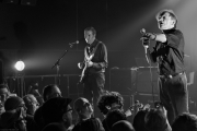 Mark. E. Smith just gave a mic to the audience | The Fall
